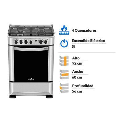 Cocina Mabe ANDES60TX4 / 4 Quemadores