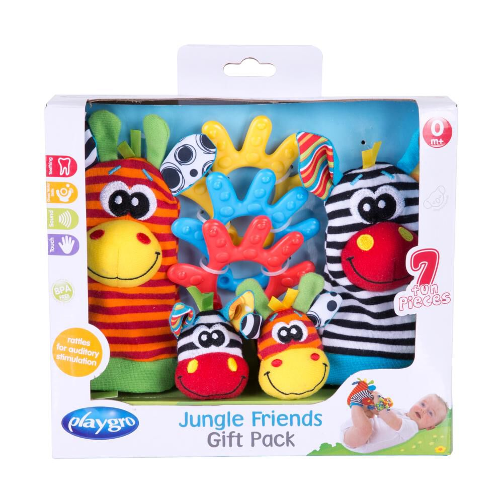 Jungle Friends Gift Pack Playgro image number 2.0