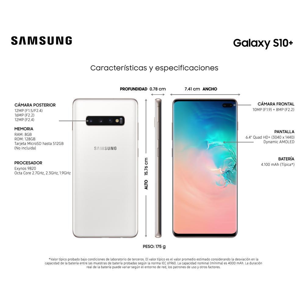 Smartphone Samsung Galaxy S10+ 128 Gb - Liberado image number 3.0