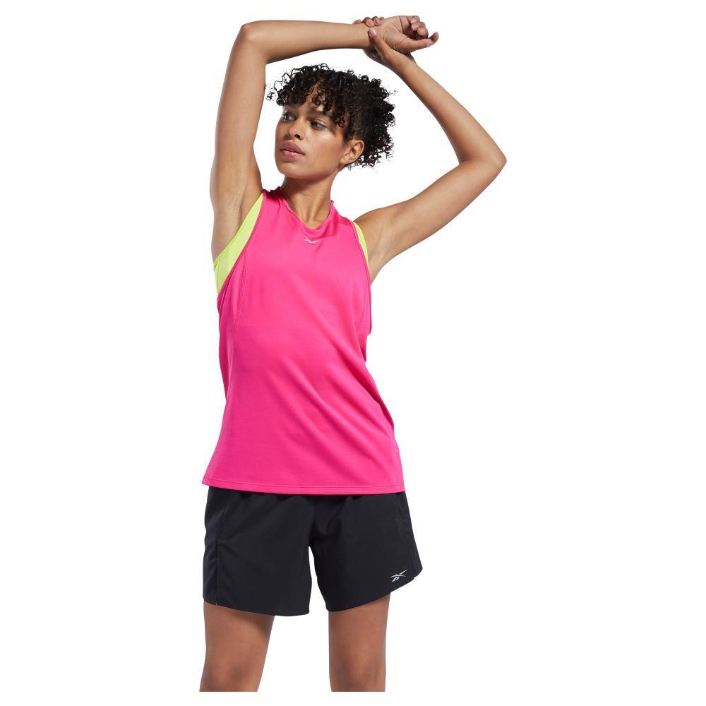Polera Mujer Reebok Workout Ready Run Speedwick Tank image number 4.0