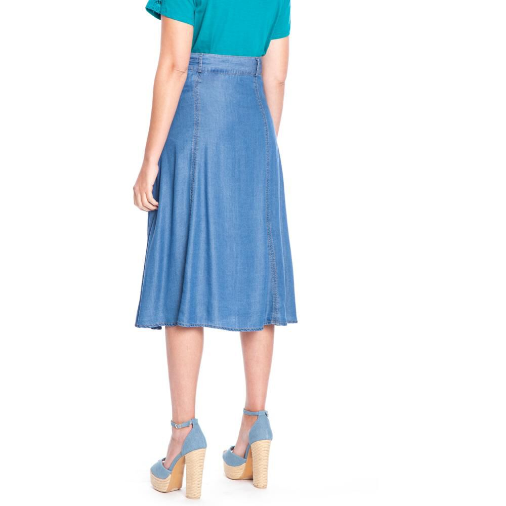 Falda Mujer Curvi image number 1.0