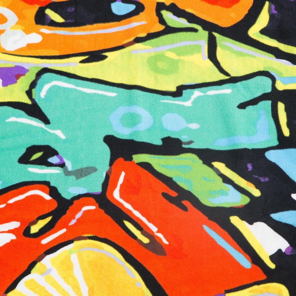 Toalla Playa Longboard American Family image number 1.0
