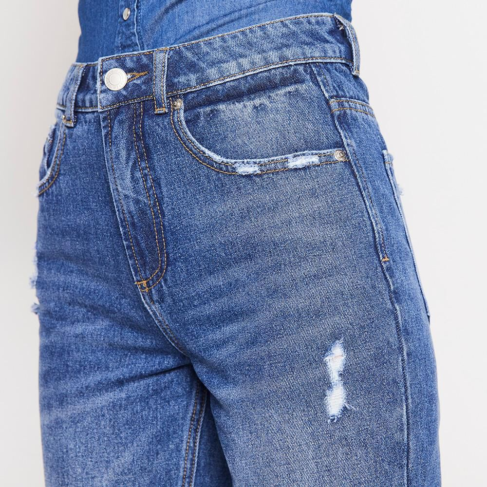 Jeans Mujer Tiro Alto Mom Freedom image number 3.0