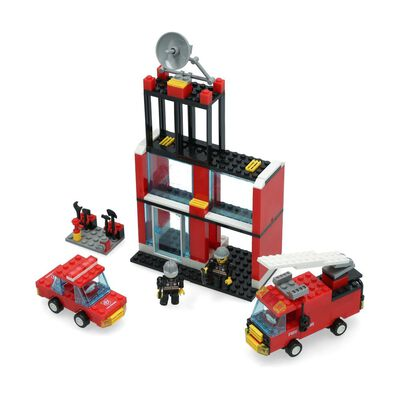 Bloques Armables Build Me Up Fire Rescue