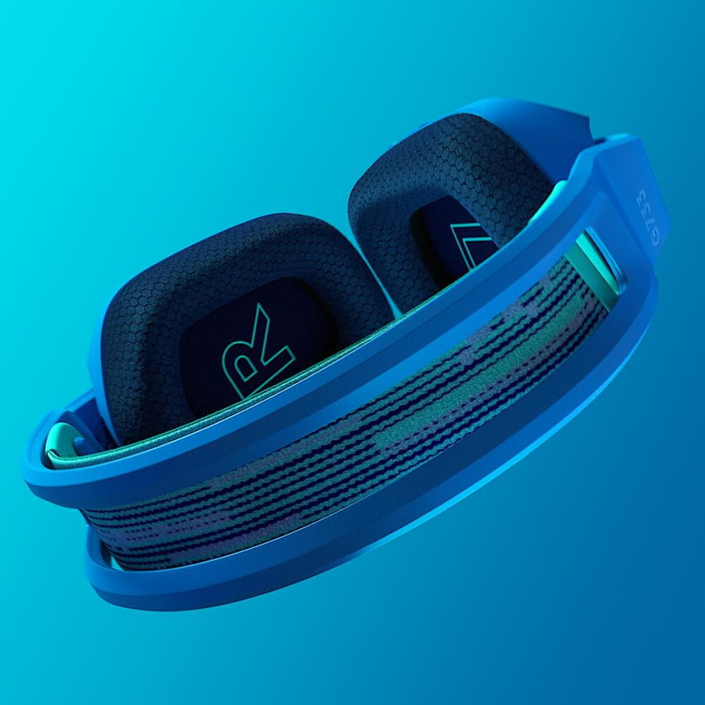 Audífonos Gamer Logitech G733 Lightspeed Rgb Blue image number 2.0