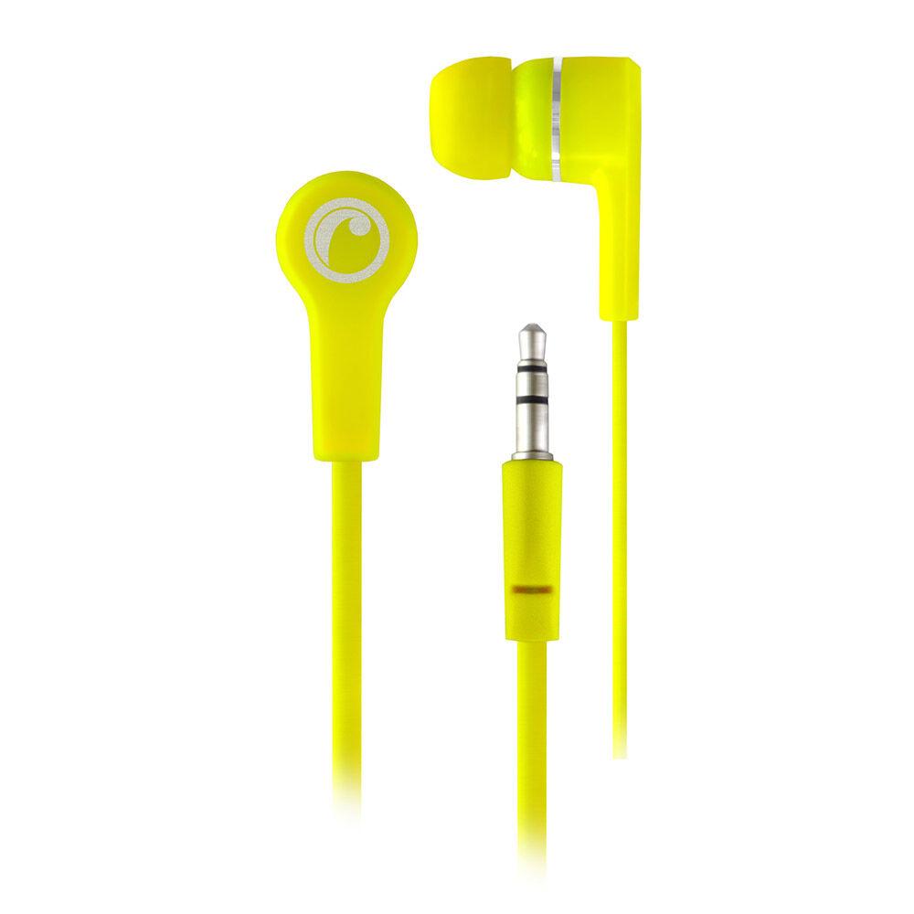 Audifonos Fiddler In Ear Amarillo Fluor image number 0.0