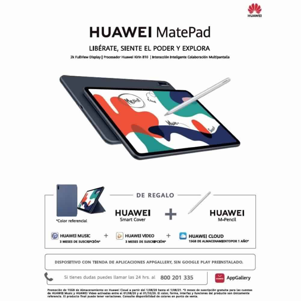 Tablet Huawei Matepad / Midnight Grey / 64 GB / Wifi / Bluetooth / 10.4'' image number 6.0