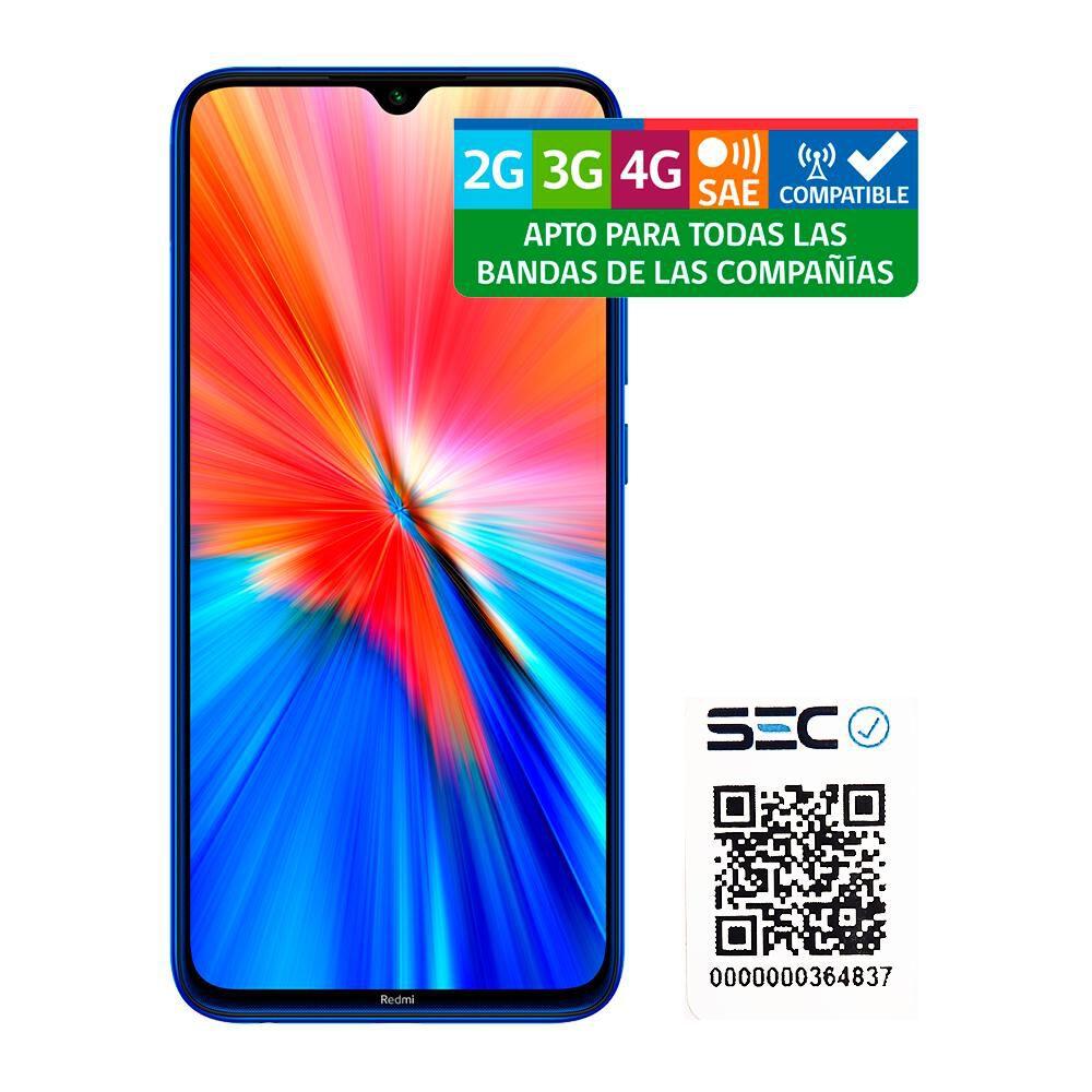 Smartphone Xiaomi Redmi Note 8 2021 Azul / 64 Gb / Liberado image number 9.0