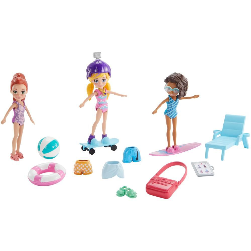 Polly Pocket! Pack 3 Muñecas image number 0.0