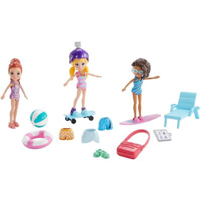 Polly Pocket! Pack 3 Muñecas