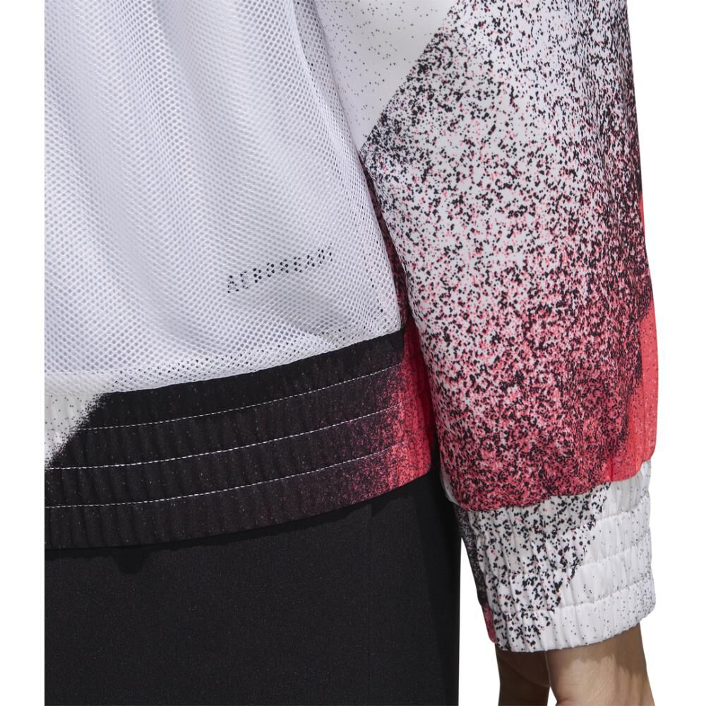 Polerón Deportivo Mujer Adidas Unleash Confidence Woven image number 2.0