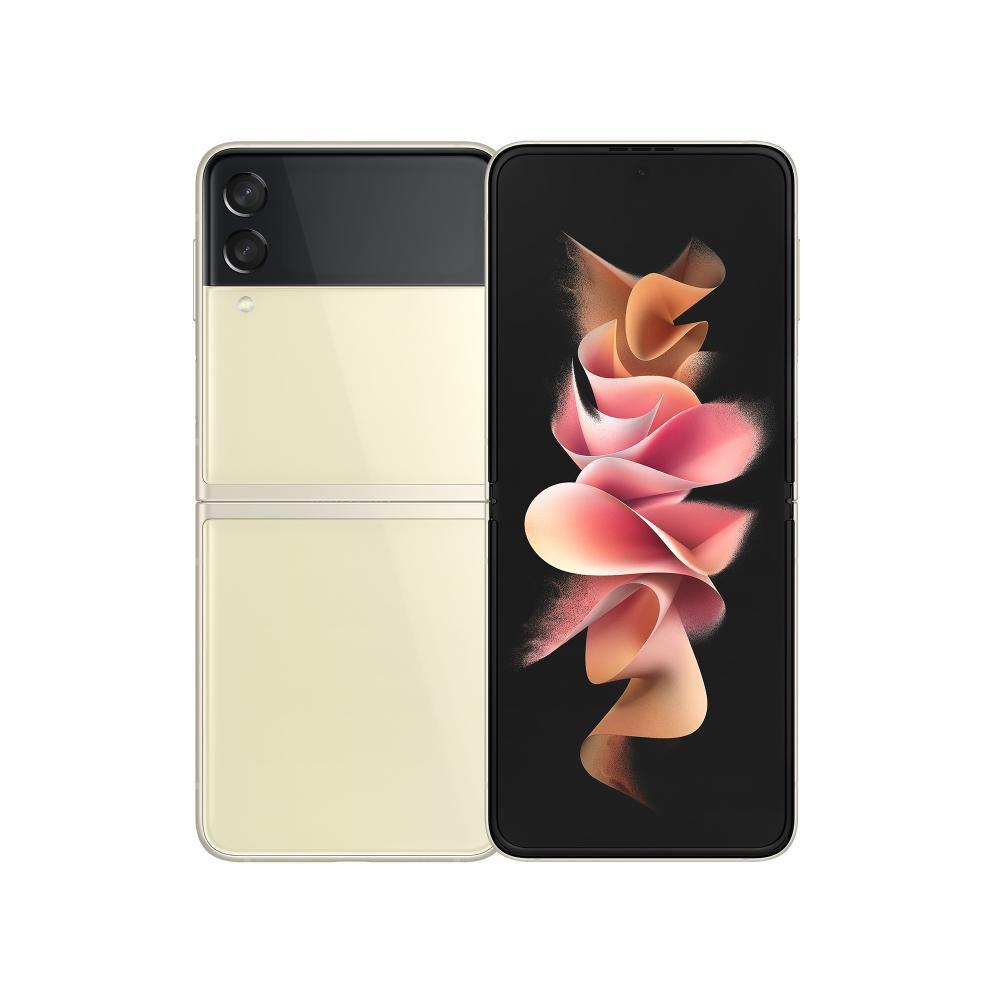 Smartphone Samsung Galaxy Z Flip 3 Crema / 128 Gb / Liberado image number 0.0