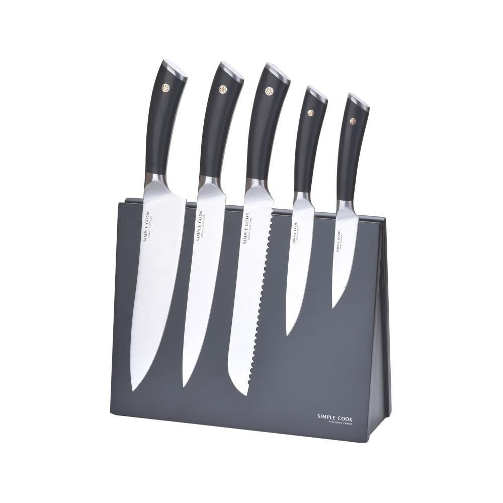 Set De Cuchillos Simple Cook Chicago / 6 Piezas image number 0.0