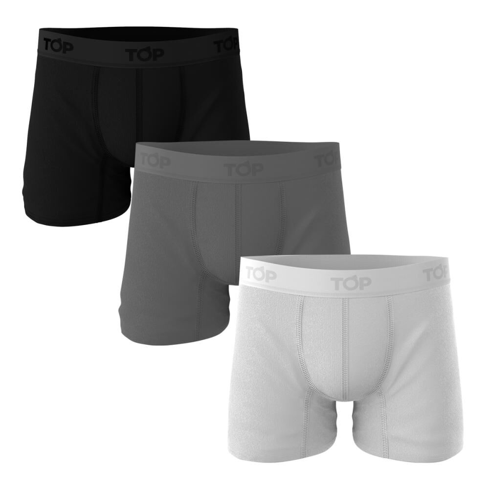 Boxer Top / 3 Unidades image number 0.0