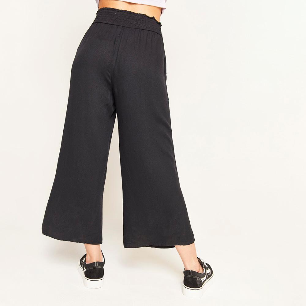 Pantalon Pretina Elasticada Tiro Alto Relax Mujer Freedom image number 2.0