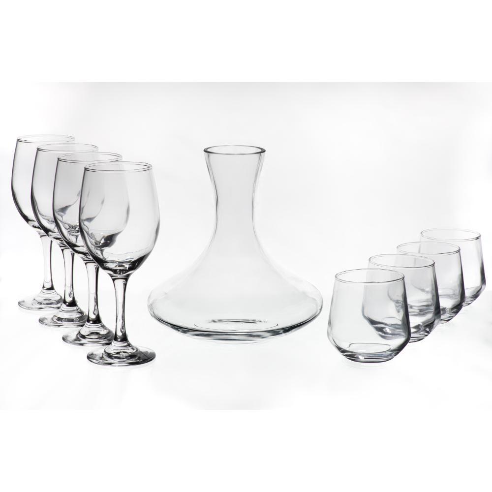 Set De Vasos Fta Premium / 9 Piezas image number 0.0