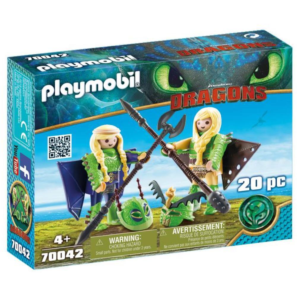 Figura De Acción Playmobil Chusco Y Brusca Con Traje Volador image number 0.0
