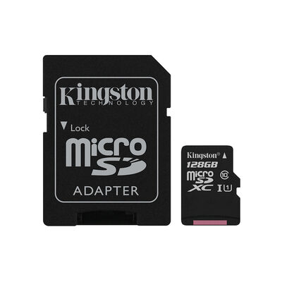 Tarjeta Micro Sd Kingston Canvas Select / 128 Gb / Class 10