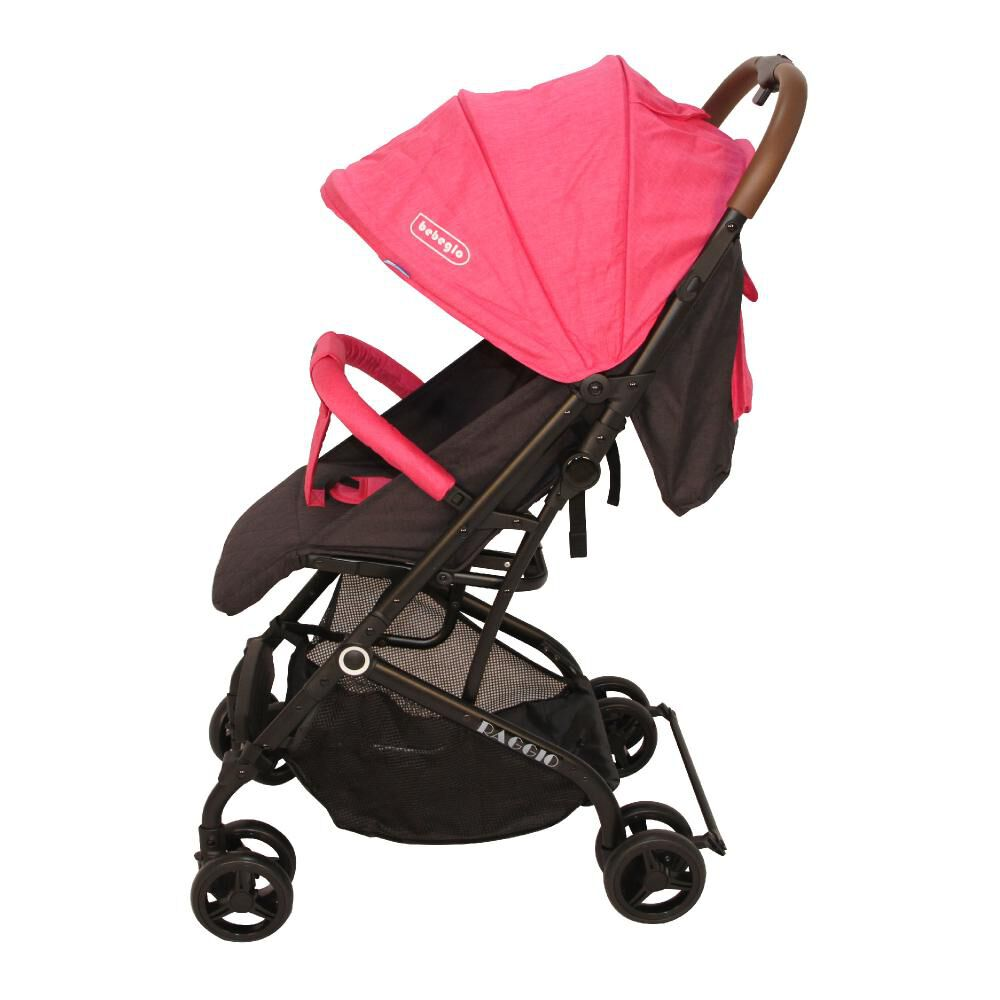 Coche Travel System Compacto Bebeglo RS-13785-2 Fucsia image number 2.0