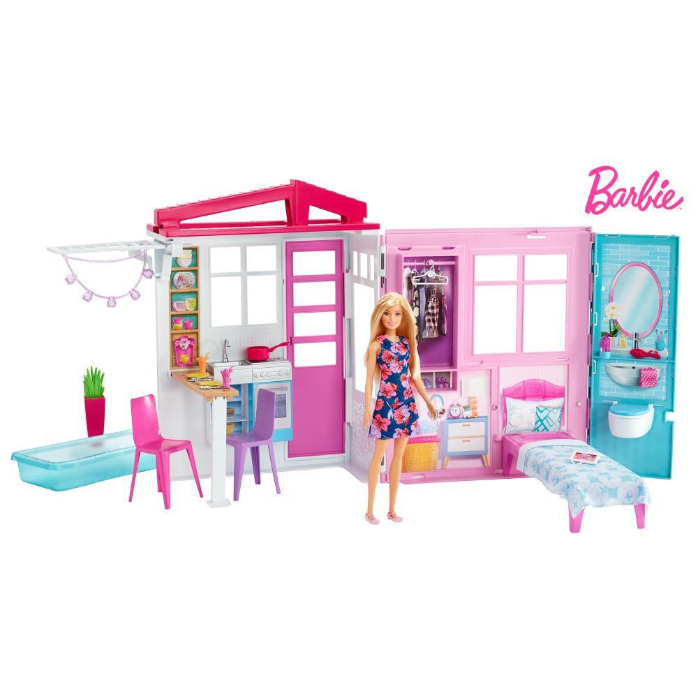 Accesorios Muñeca Barbie Casa Glam Con Muñeca image number 0.0