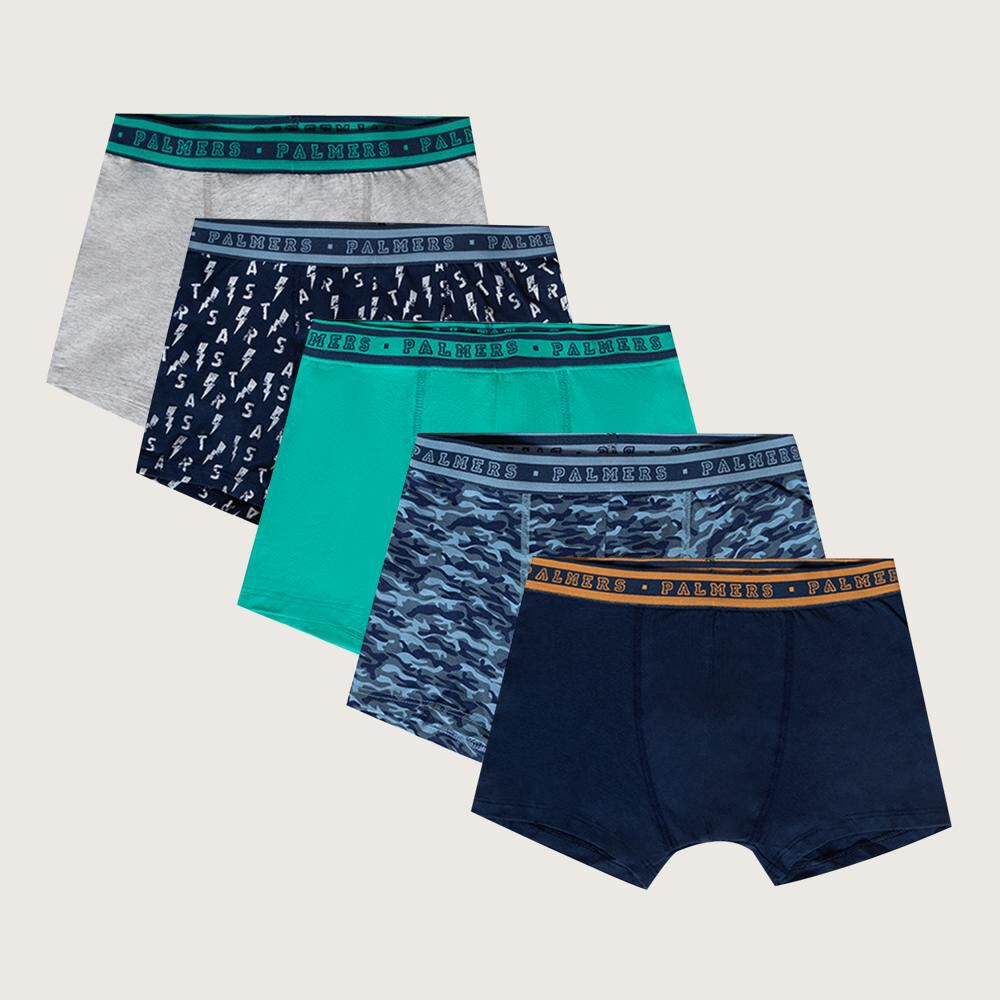Pack Boxer Niño Palmers / 5 Unidades image number 0.0