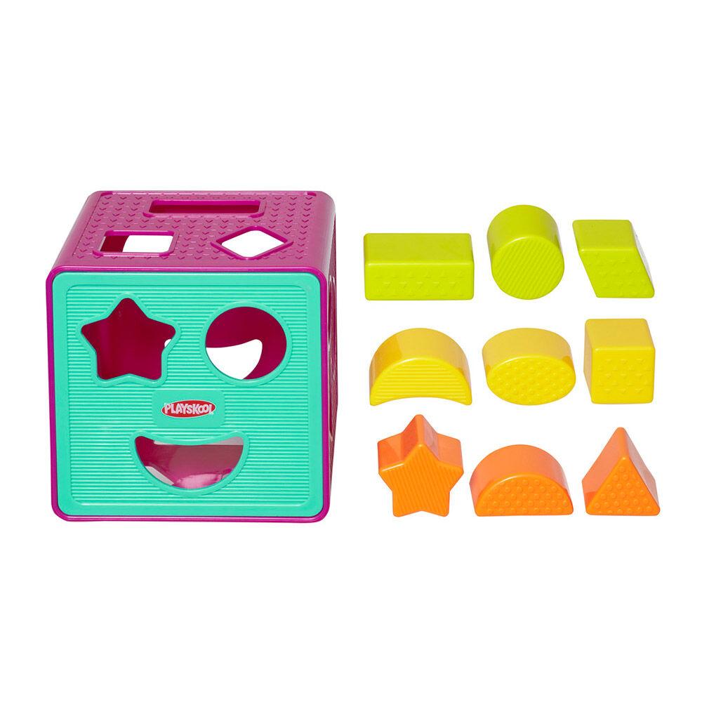 Juego Didáctico Hasbro Playskool Cubo De Formas image number 1.0