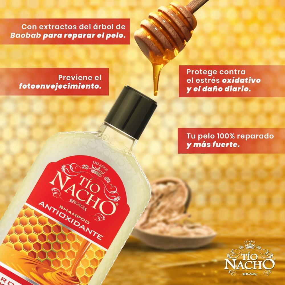 Pack Shampoo + Acondicionador Tío Nacho Antioxidante image number 1.0