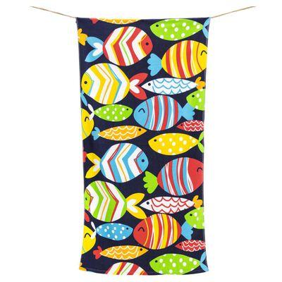 Toalla Playa Casaideal Fish Color