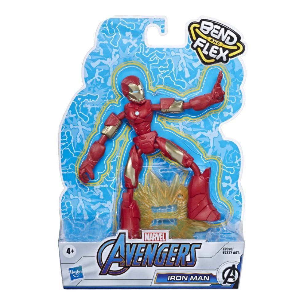 Figura De Accion Avenger Avn Bend And Flex Iron Man image number 1.0