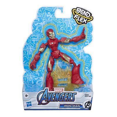 Figura De Accion Avenger Avn Bend And Flex Iron Man