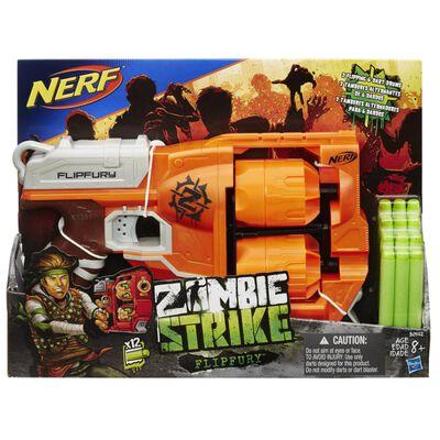 Lanzardor De Dardos Nerf Zombiestrike Flipfury