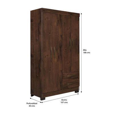 Closet Casaideal Domani / 4 Puertas / 2 Cajones