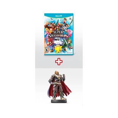 Juego Nintendo Wii U Super Smash Bros + Amiibo