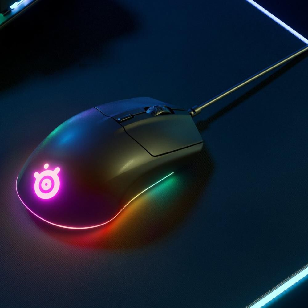 Mouse Gamer Steel Series Rival 3 image number 4.0