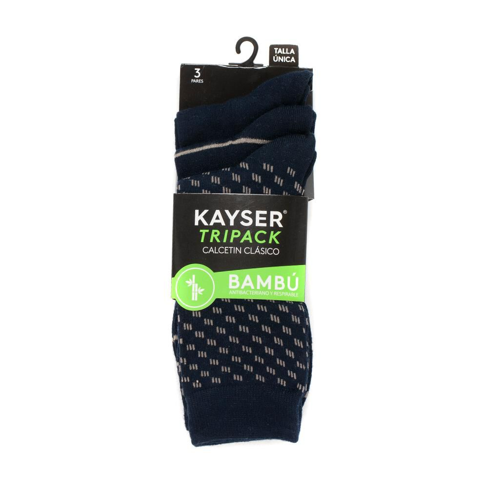 Pack Calcetines Soquetes Bamboo Kayser / 3 Pares image number 0.0