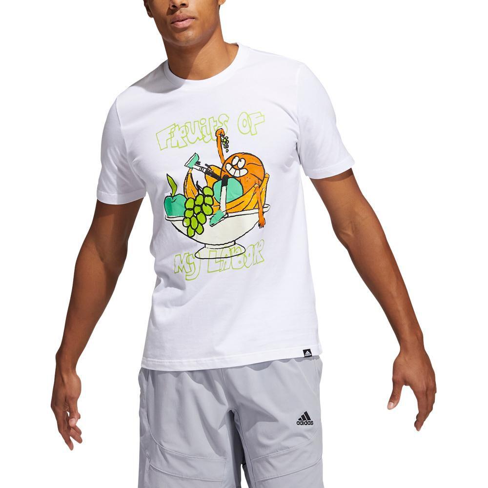 Polera Hombre Adidas Estampado De Frutas Lil Stripe image number 0.0