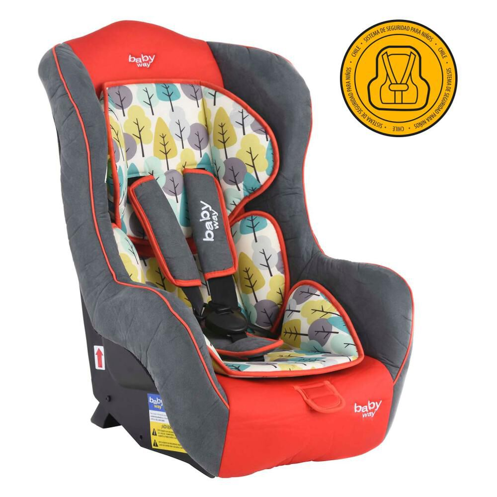 Silla Auto Baby Way Bw-744R18 image number 0.0