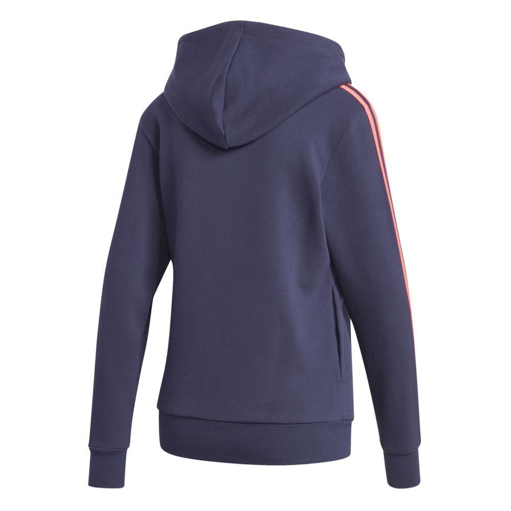 Poleron Deportivo Mujer Adidas Essentials Fleece 3s image number 9.0