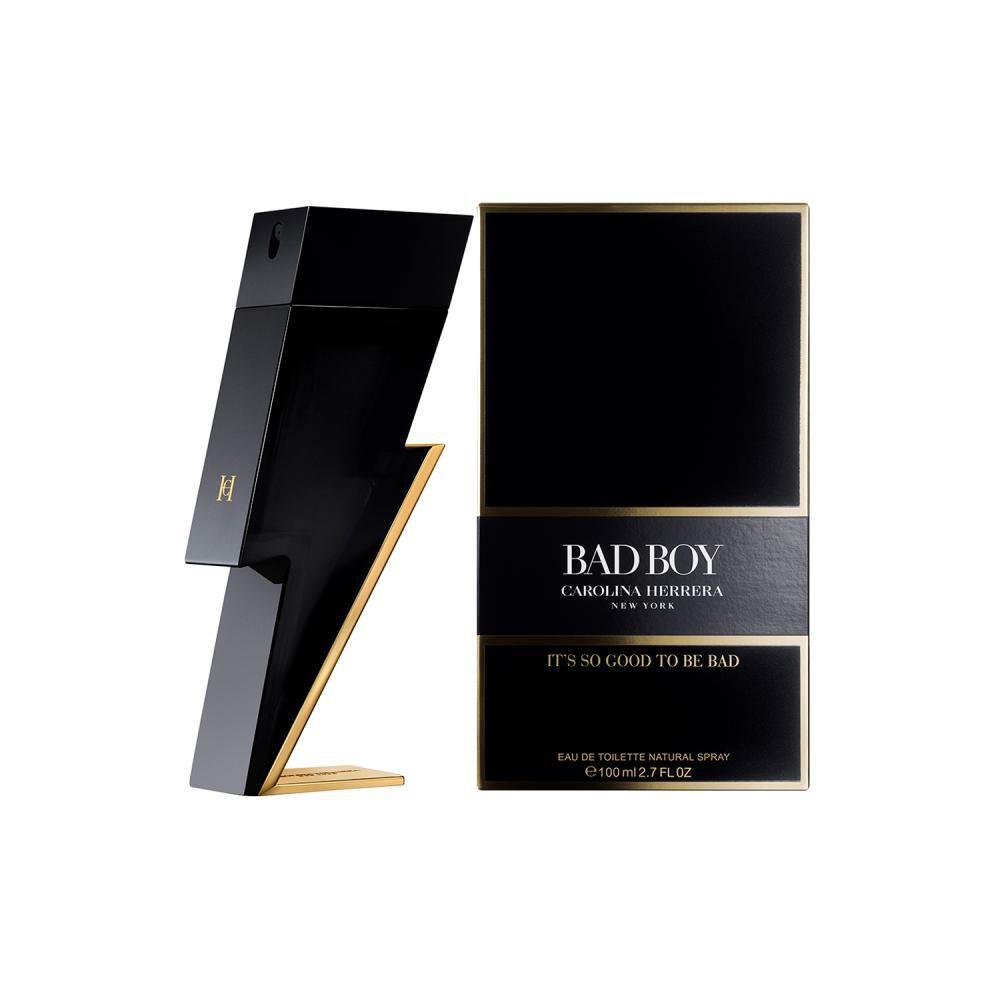 Perfume Bad Boy Carolina Herrera / 100 Ml / Edt image number 1.0