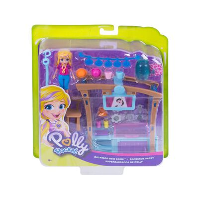 Muñeca Polly Pocket Fiesta Parrilla