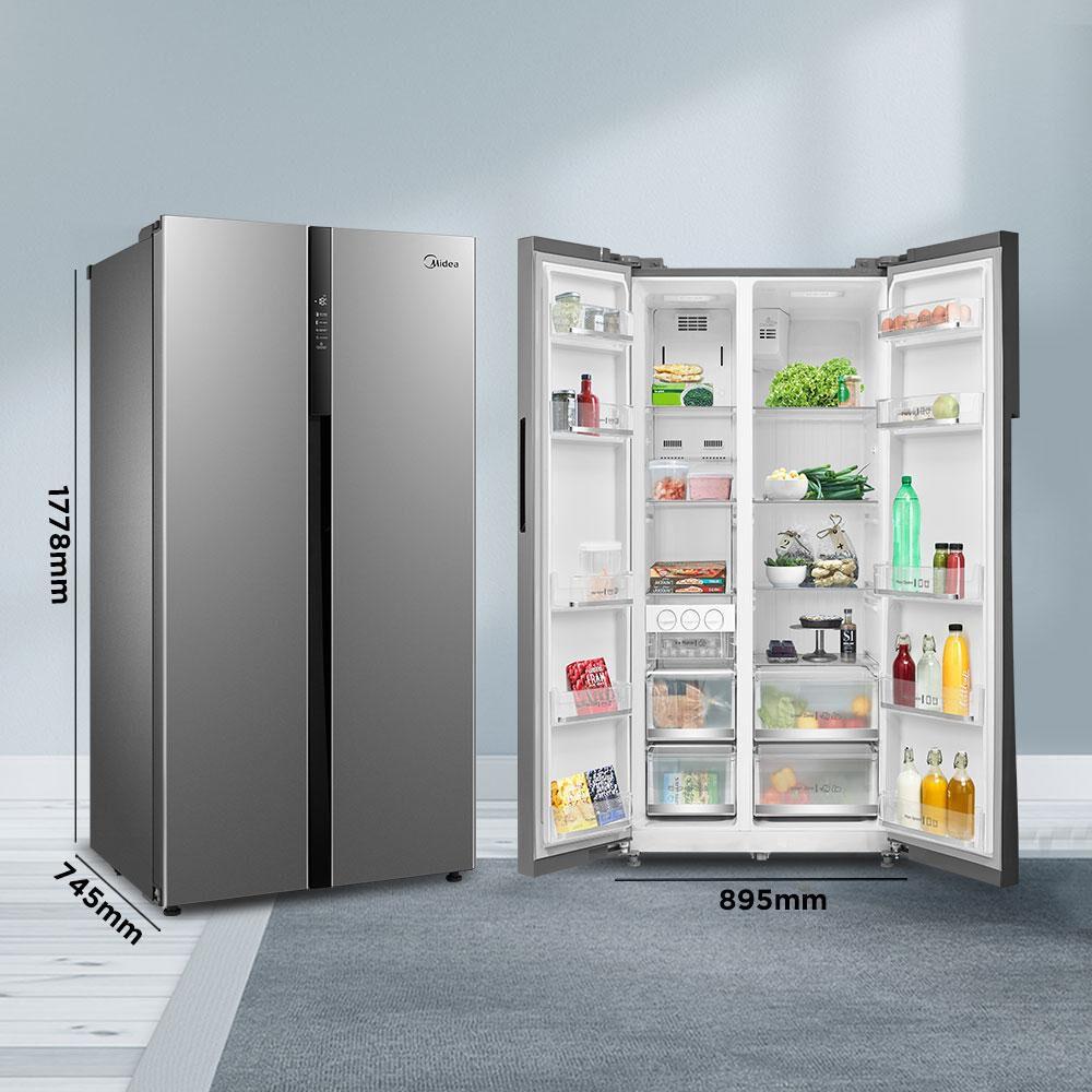 Refrigerador Side By Side Midea MRSBS-5300G689WE / No Frost / 527 Litros image number 4.0