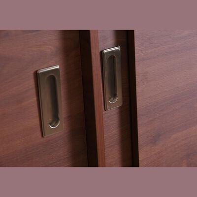 Closet Cic Mel. Cerezo 15 Mm. / 4 Puertas / 8 Cajones