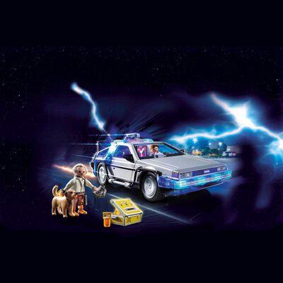 Auto Playmobil Volver Al Futuro