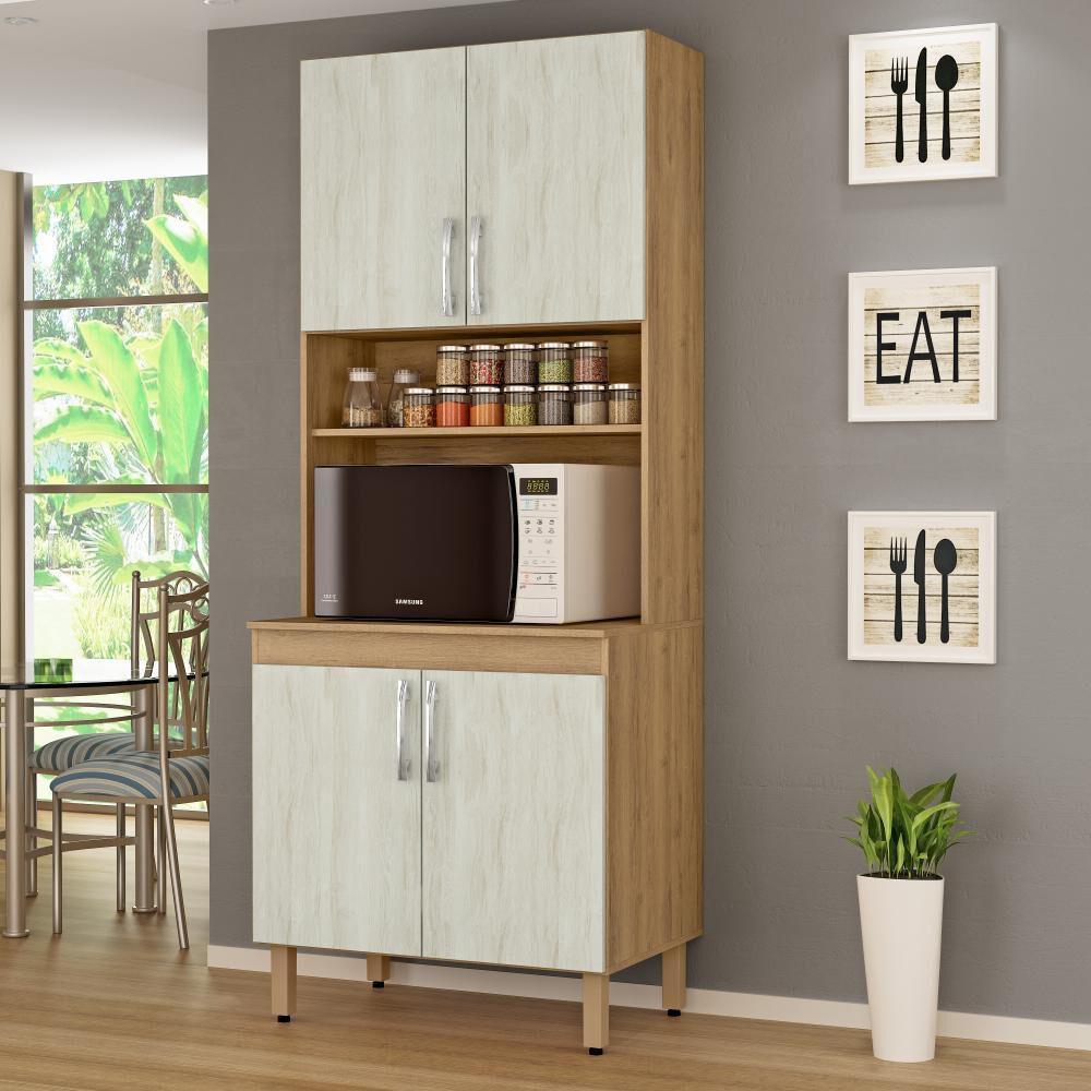 Mueble De Cocina Home Mobili Kalahari/montana / 4 Puertas image number 2.0