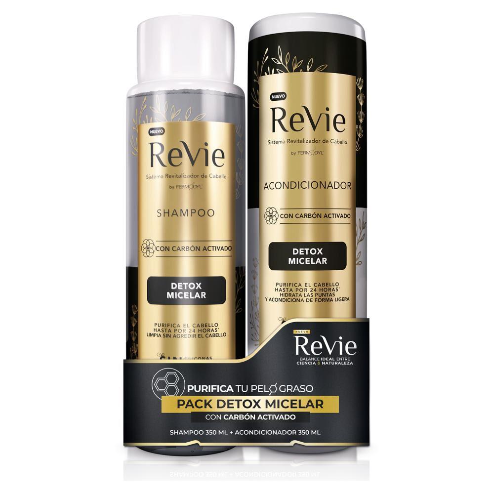 Pack Shampoo + Acondicionador Revie Detox Micelar image number 0.0