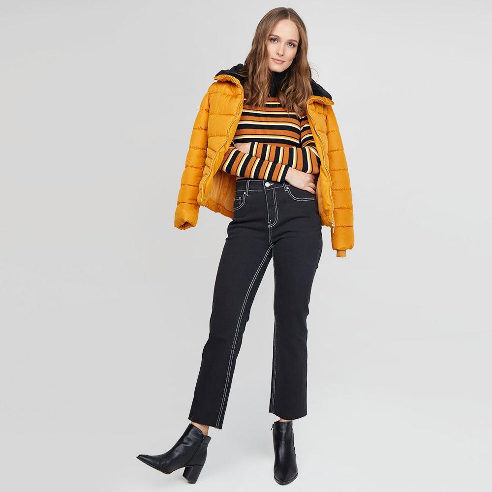 Jeans Mujer Tiro Medio Recto Kimera image number 4.0