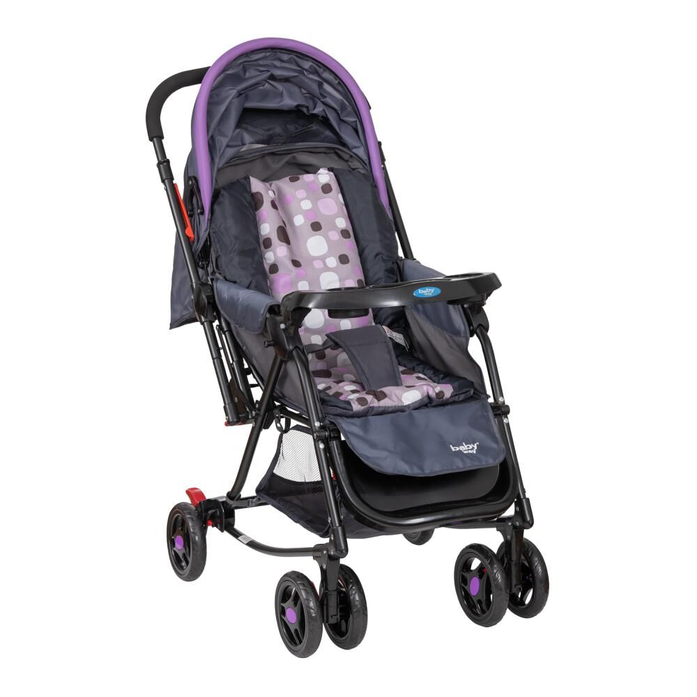 Coche Cuna Baby Way Bw-309M20 image number 3.0
