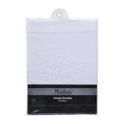 Mantel Windsor Carpeta Bordada / 1 Unidad