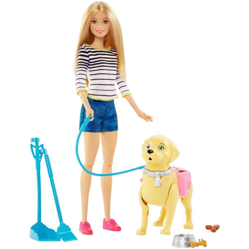 Muñeca Barbie Paseo De Perrito image number 2.0