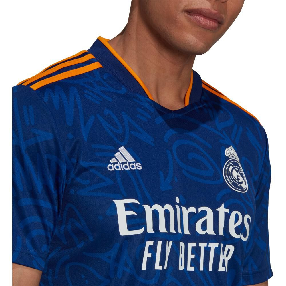 Camiseta De Fútbol Hombre Adidas Real Madrid 21/22 image number 3.0